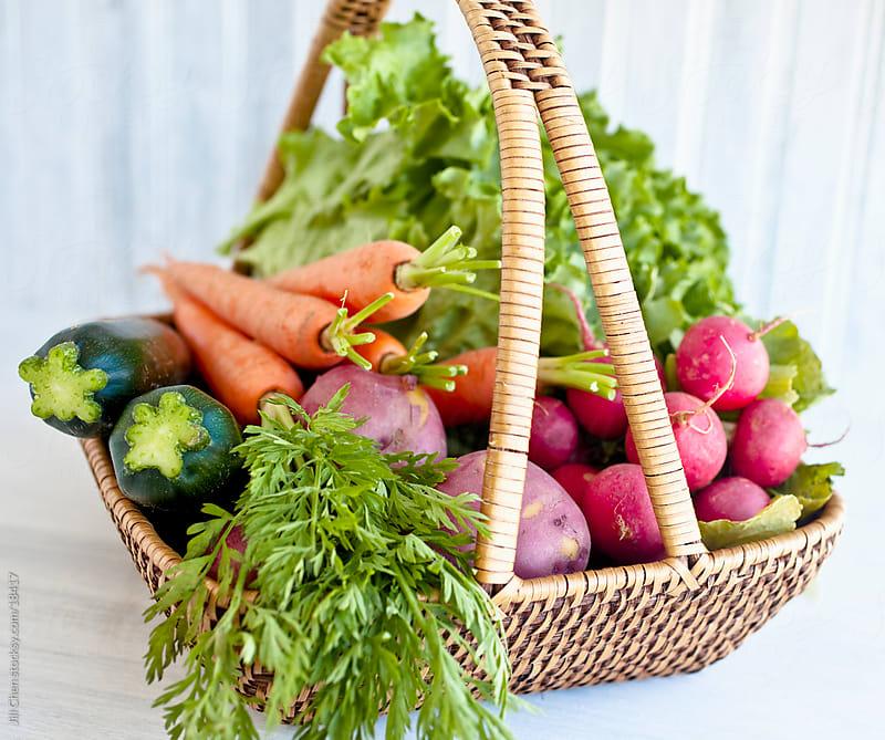 Bountiful Harvest Basket by Jill Chen for Stocksy United