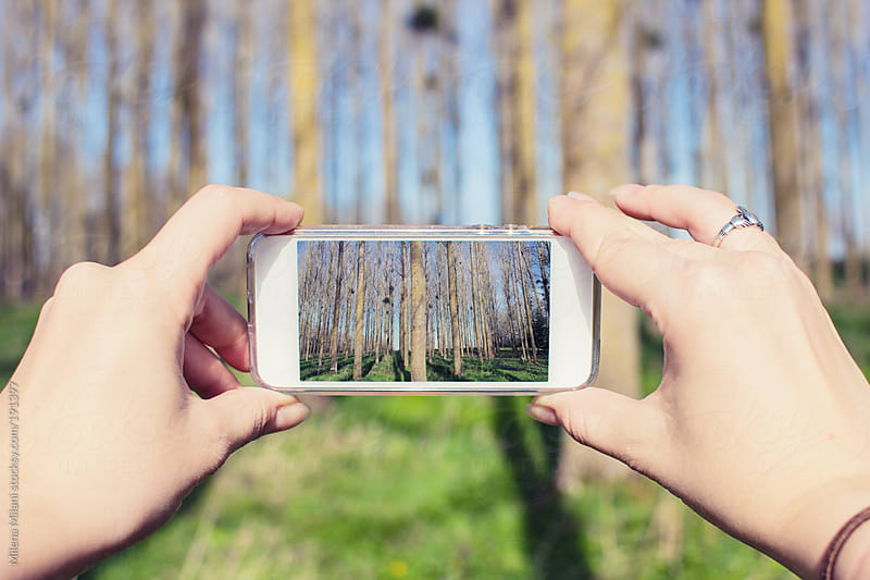 Smartphone camera by Milena Milani for Stocksy United