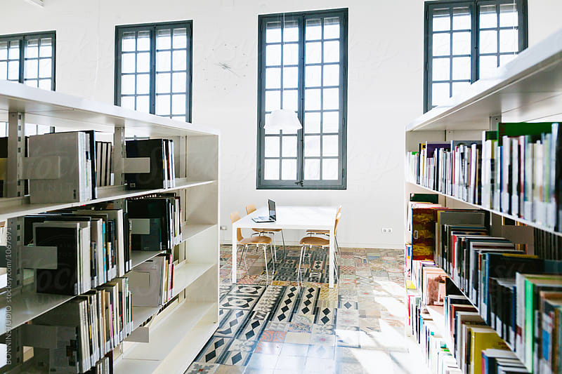 Library. by BONNINSTUDIO for Stocksy United