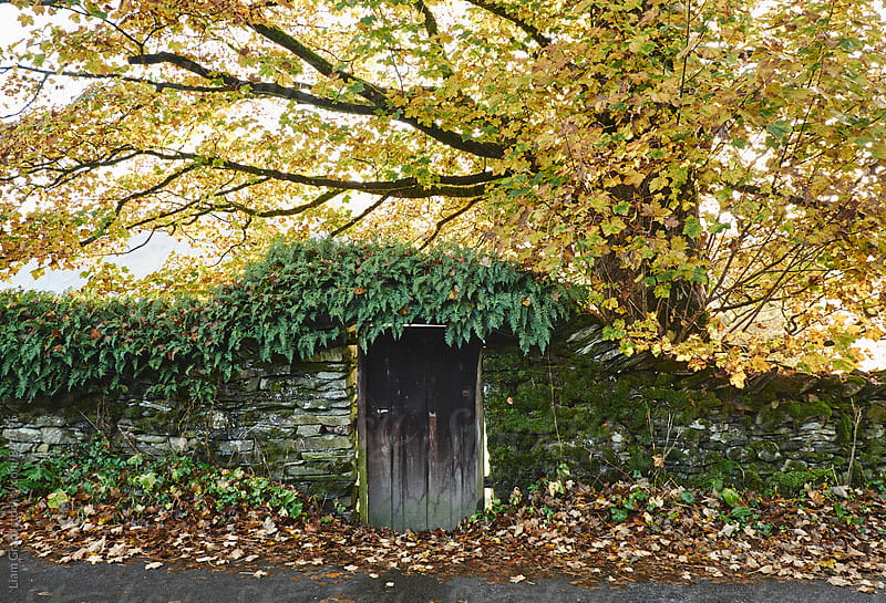 Door in a wall. Troutbeck, Cumbria, UK. by Liam Grant for Stocksy United