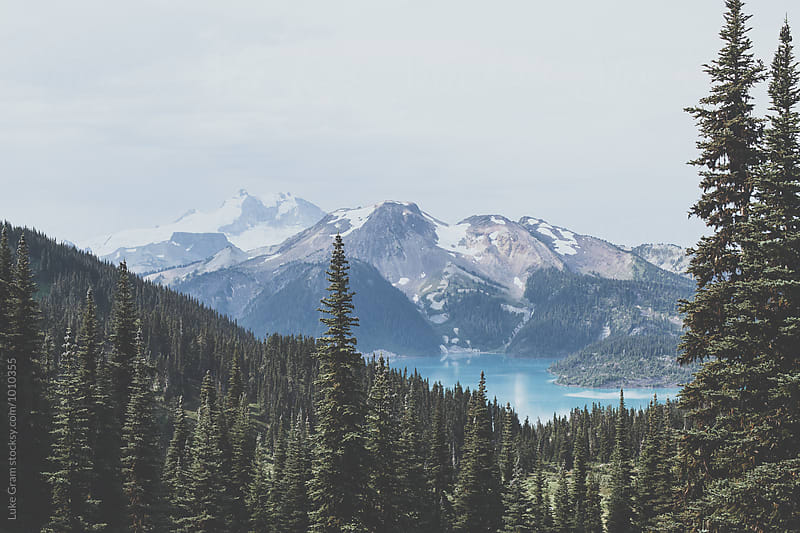 Hiking through the Pacific Northwest by Luke Gram for Stocksy United