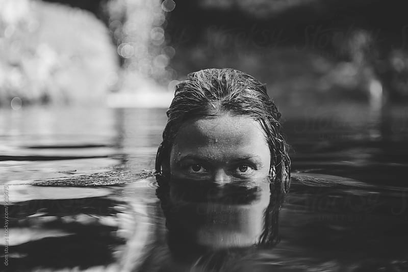 Water Portrait by dom stuart for Stocksy United