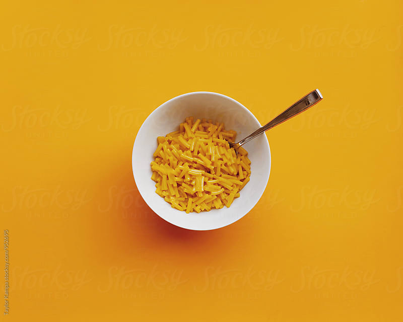 Macaroni and Cheese by Taylor Kampa for Stocksy United