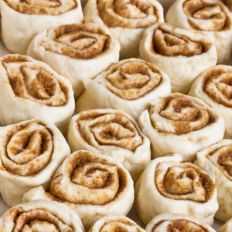 Cinnamon Rolls by Jill Chen for Stocksy United
