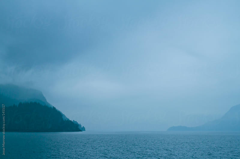 Misty Canadian waters by Jesse Morrow for Stocksy United