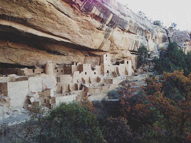 Pueblo Cliff Dwelling by Kevin Russ for Stocksy United
