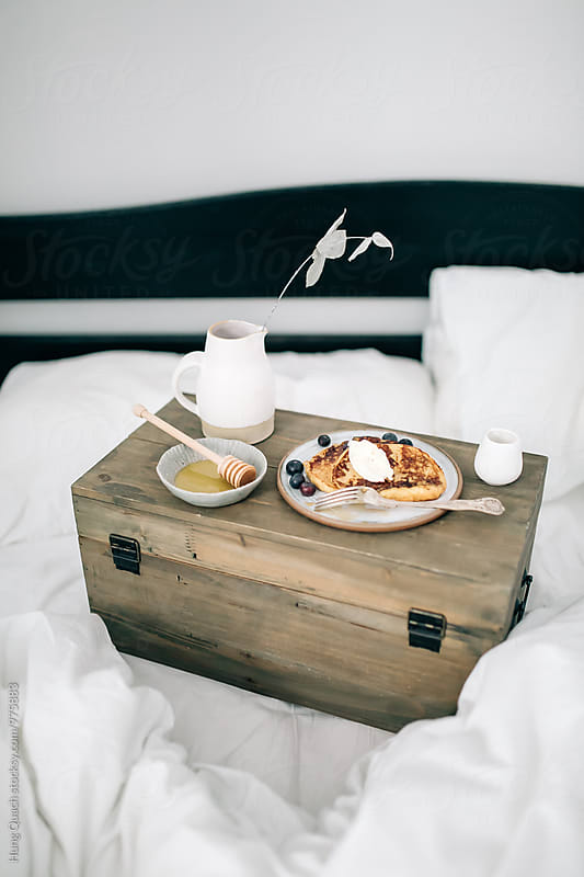 Breakfast in Bed by Hung Quach for Stocksy United