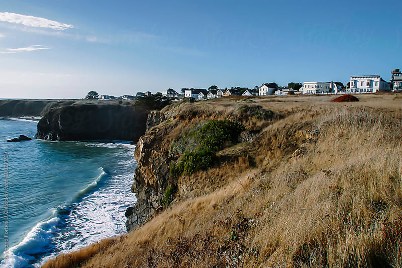 Pacific Ocean Mendocino, California by Raymond Forbes LLC for Stocksy United