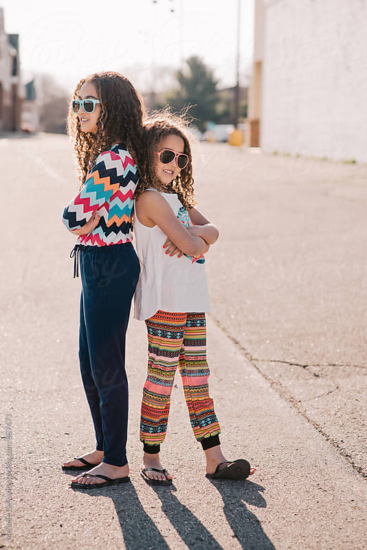 Sisters by Melanie DeFazio for Stocksy United