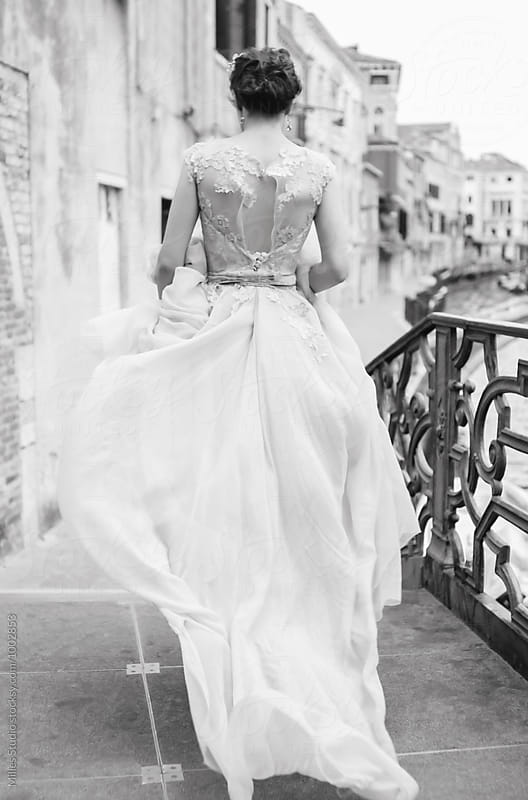 Bride at Venice by Milles Studio for Stocksy United