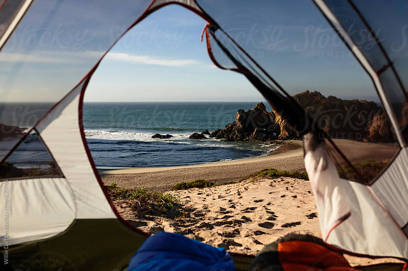 Tent on a Sandy Costal Beach by Willie Dalton for Stocksy United