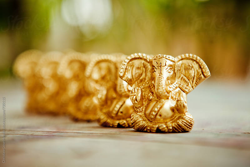 Ganesha / Elephant ornaments by Christine Love Hewitt for Stocksy United