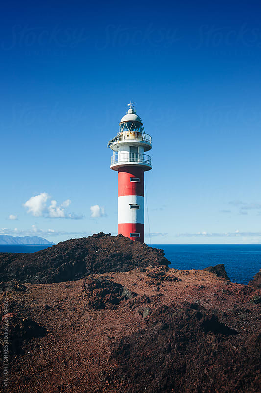 Old Ligthouse in Punta Teno, Tenerife by VICTOR TORRES for Stocksy United