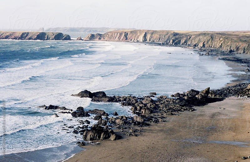 The Pembrokeshire Coastline by Helen Rushbrook for Stocksy United