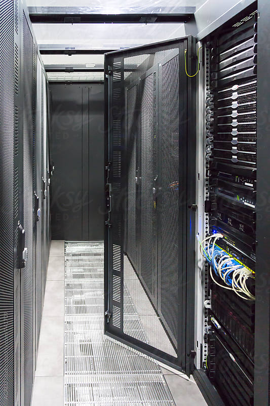 Datacenter servers by ACALU Studio for Stocksy United