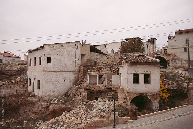 Old Buildings in Turkey by Caleb Thal for Stocksy United