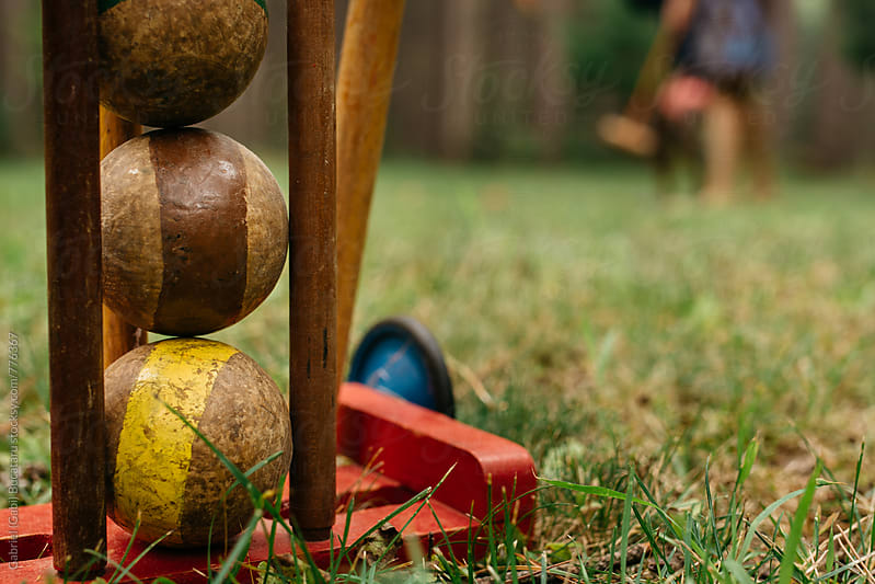 Croquet Ball Set by Gabriel (Gabi) Bucataru for Stocksy United