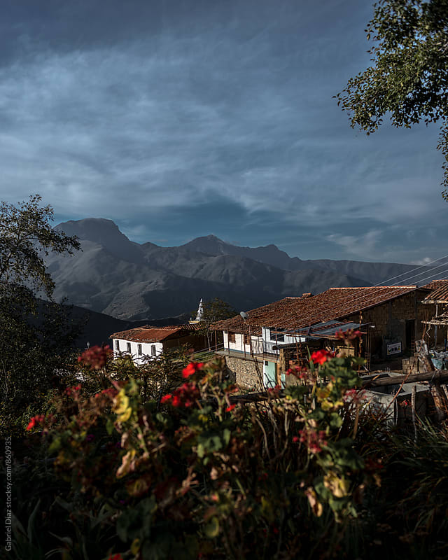 Touristic Colonial Town Los Nevados in south American Andes. Venezuela by Gabriel Diaz for Stocksy United