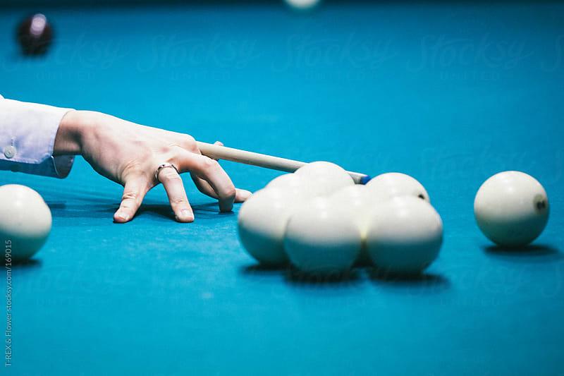 billiards by T-REX & Flower for Stocksy United