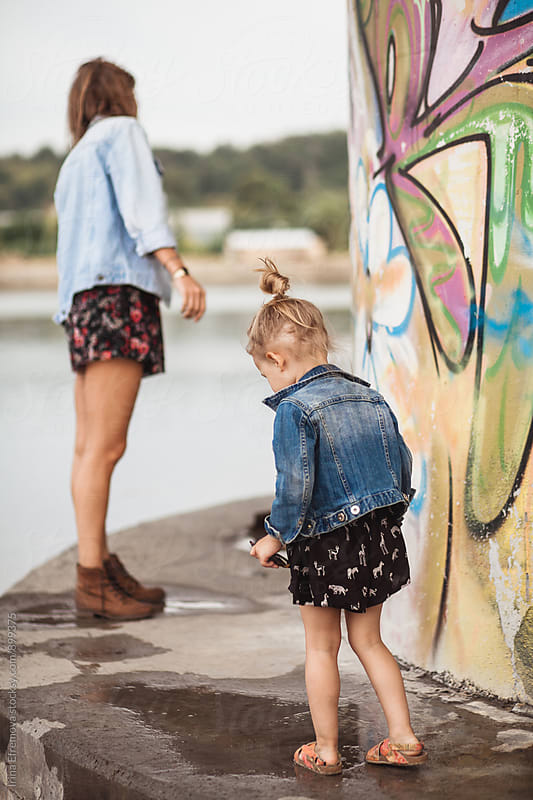 Like mother like daughter by Irina Efremova for Stocksy United