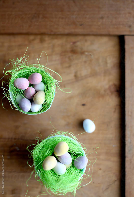 Easter eggs by Orsolya Bán for Stocksy United