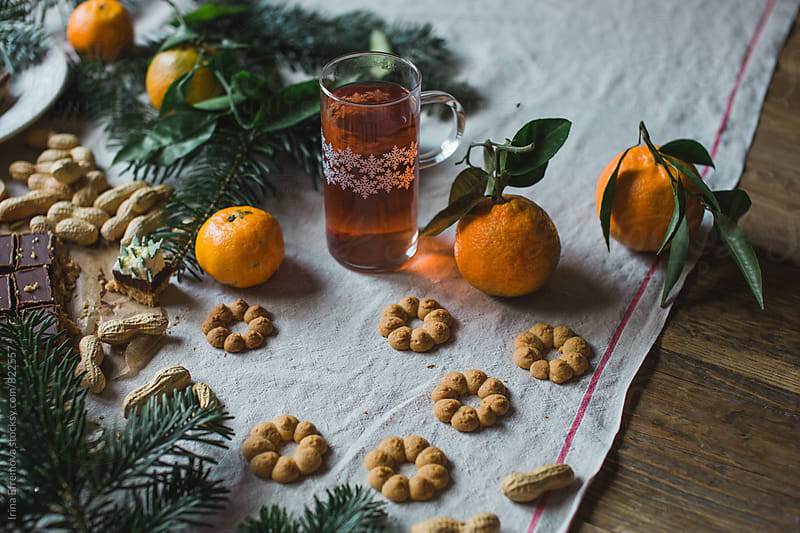 Some peanut butter winter cookies by Irina Efremova for Stocksy United