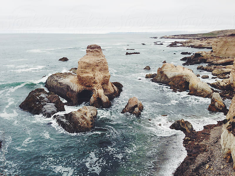 Rugged California Coastline by Kevin Russ for Stocksy United
