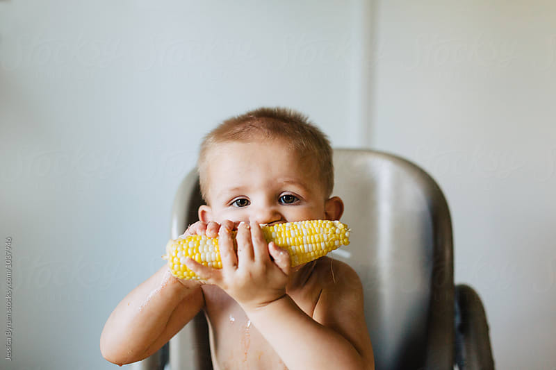 Corn on the Cob by Jessica Byrum for Stocksy United