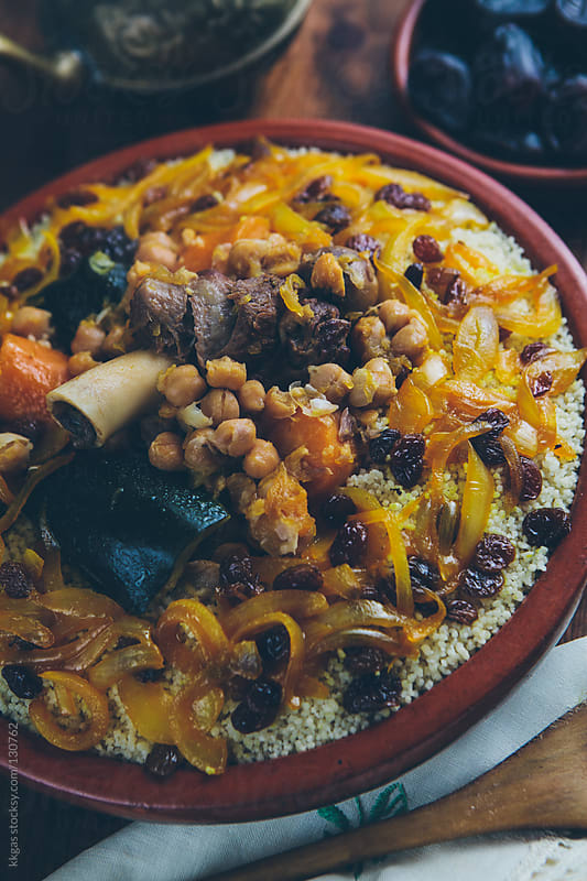 Couscous by kkgas for Stocksy United
