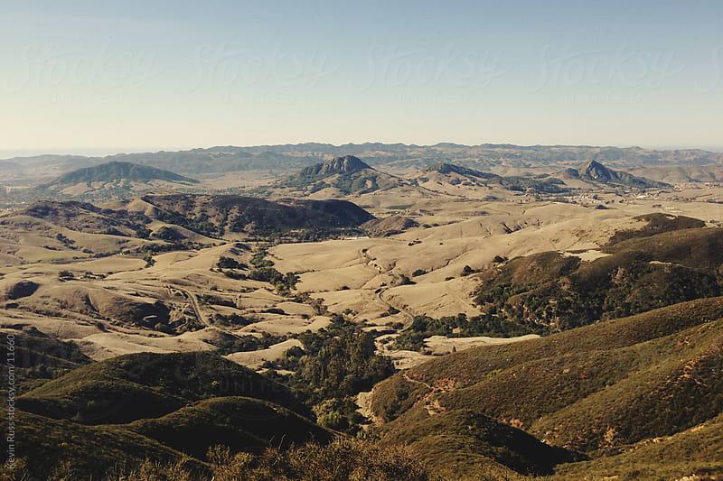 California Country Hills by Kevin Russ for Stocksy United