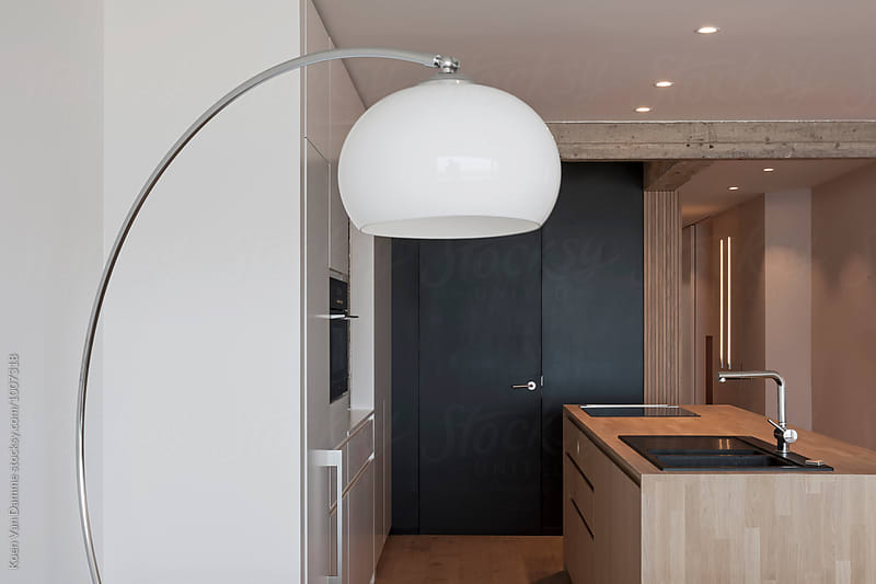 design lamp and kitchen by Koen Van Damme for Stocksy United