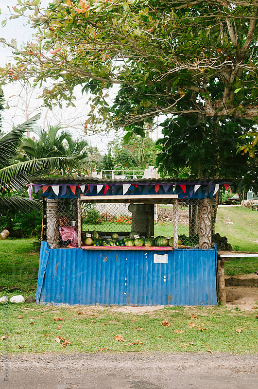 Fruit stall, Samoa. by Thomas Pickard for Stocksy United