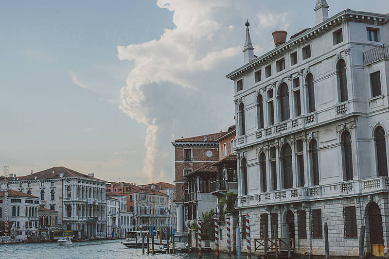 Canals in Venice, Italy by Javier Márquez for Stocksy United