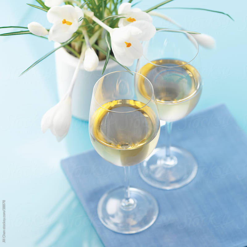Spring Wine Tasting by Jill Chen for Stocksy United