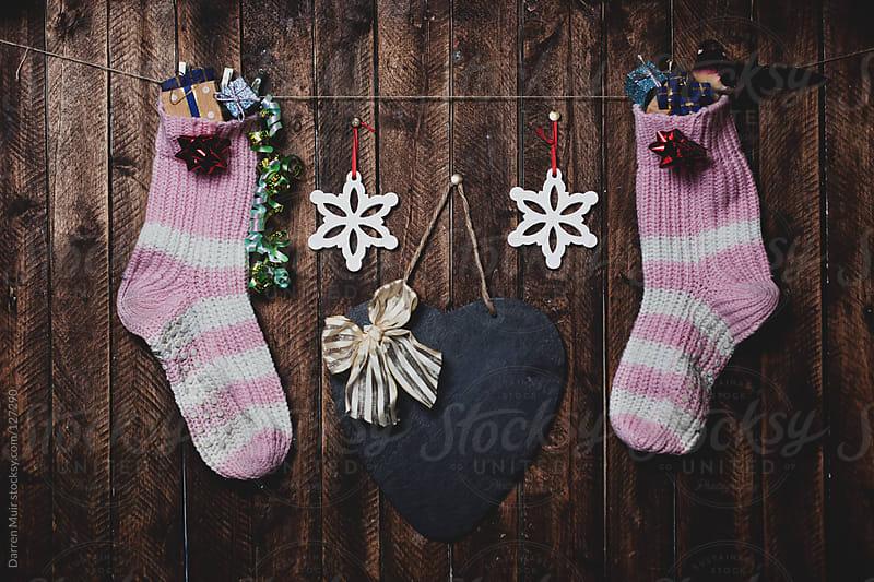 Christmas Stockings.  by Darren Muir for Stocksy United