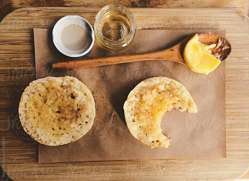Breakfast Crumpets by WAA for Stocksy United