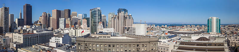 Panorama of downtown San Francisco  by Shelly Perry for Stocksy United