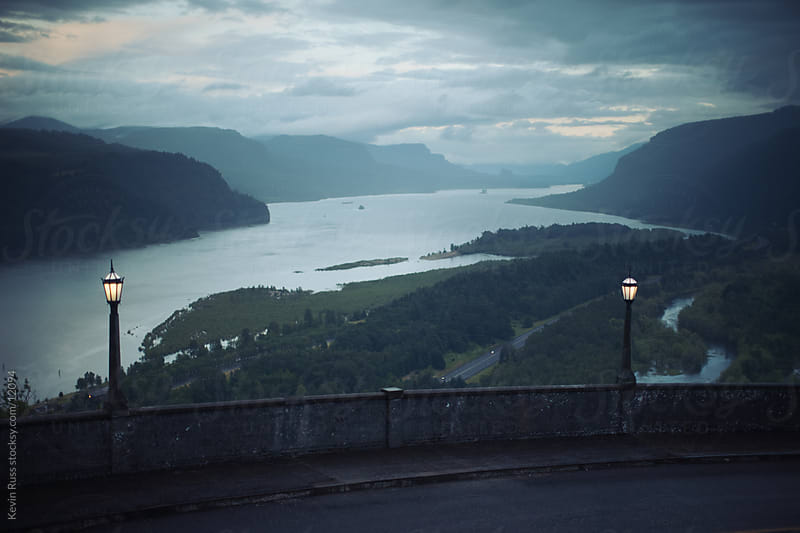 Columbia River Gorge View by Kevin Russ for Stocksy United