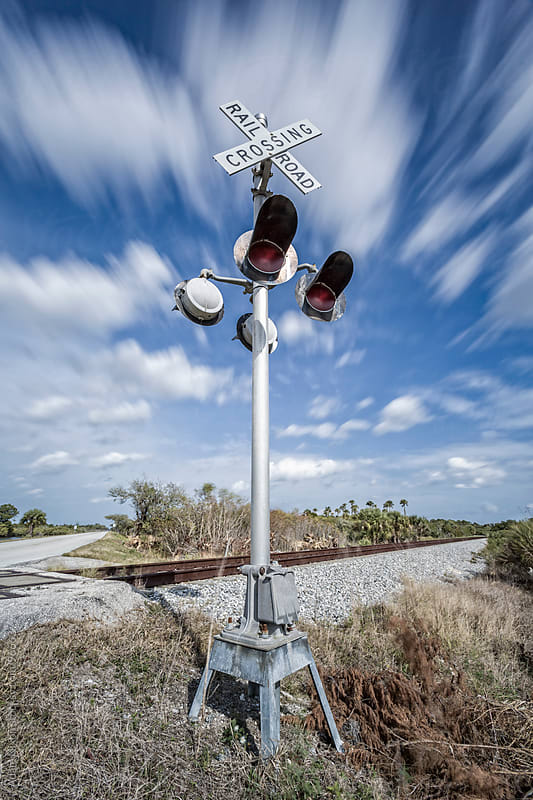 Railroad Crossing by Adam Nixon for Stocksy United