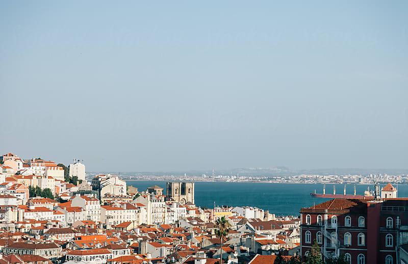 Lisbon Skyline by Agencia for Stocksy United