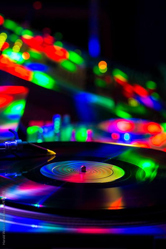 DJ equipment by Harald Walker for Stocksy United
