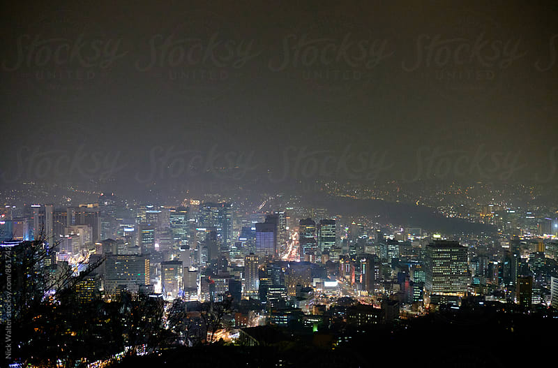 Seoul Night View by Nick Walter for Stocksy United