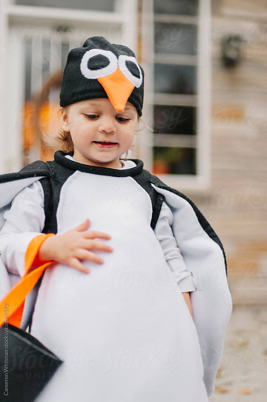 Penguin Costume by Cameron Whitman for Stocksy United