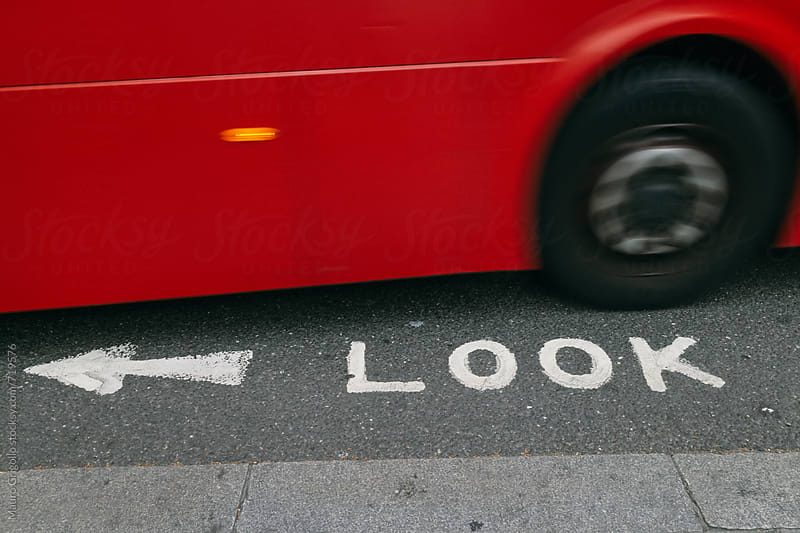 Bus in London by Mauro Grigollo for Stocksy United