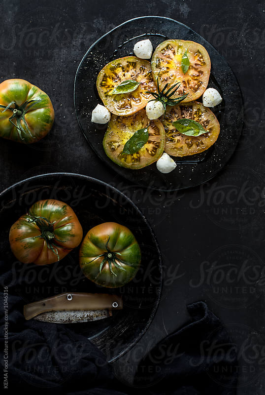 Tomato salad by KEMA Food Culture for Stocksy United