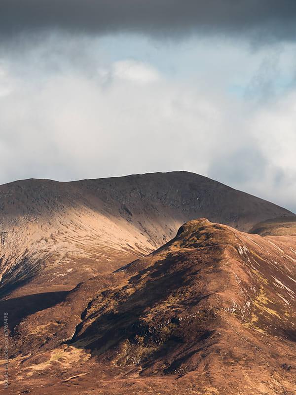 Mountain Ridgeline at Sligacahn by Richard Jones for Stocksy United