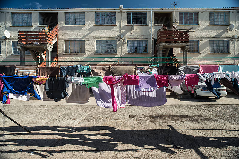 Washing Line by craig ferguson for Stocksy United