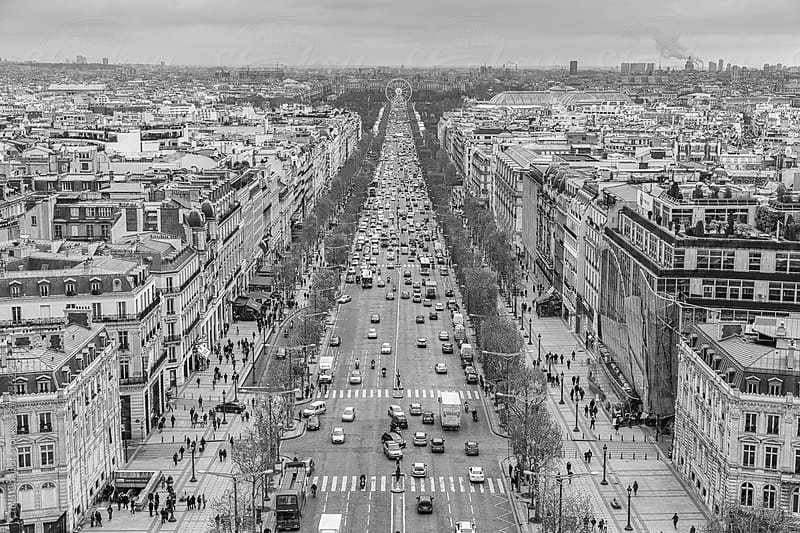 The Avenue des Champs-Élysées by Chris Chabot for Stocksy United