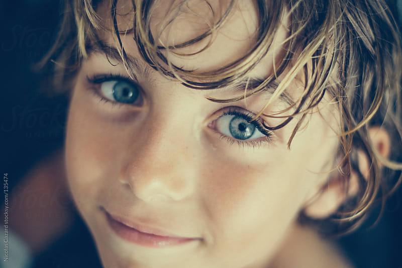 Blue eyes by Nicolas Cazard for Stocksy United