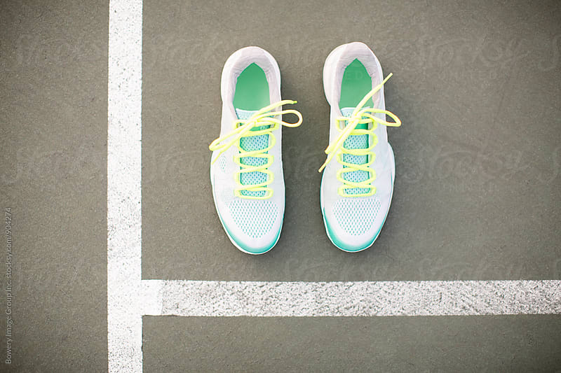 Tennis shoes  by Ann-Sophie Fjelloe-Jensen for Stocksy United